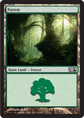 Forest (248) - Foil on Channel Fireball