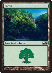 Forest (249) - Foil on Channel Fireball