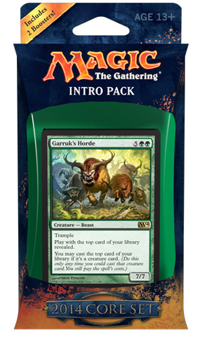 MTG Magic 2014 M14 Intro Pack: Bestial Strength