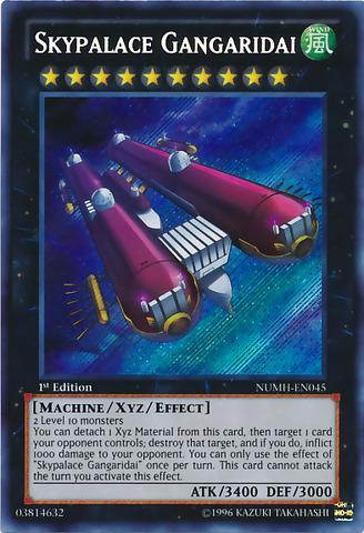 Skypalace Gangaridai - NUMH-EN045 - Secret Rare - 1st Edition