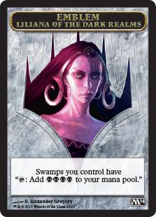 Emblem - Liliana of the Dark Realms