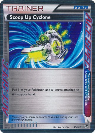 Scoop Up Cyclone - 95/101 - Holo Rare