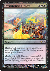 Overwhelming Forces (Judge Foil)