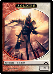 Soldier Token - Gatecrash (League)
