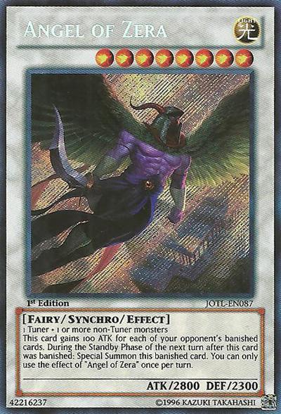 Angel of Zera - JOTL-EN087 - Secret Rare - 1st Edition