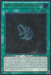 Rank-Up-Magic Numeron Force - JOTL-EN059 - Ultimate Rare - 1st Edition
