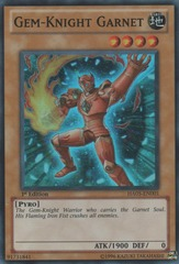 Gem-Knight Garnet - HA05-EN001 - Super Rare - Unlimited Edition