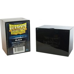 Black - Deck Box (Dragon Shield)