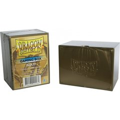 Dragon Shield: Deckbox - Gold (ATMDSH20006)