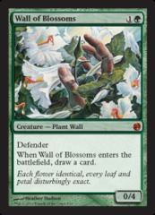 Wall of Blossoms - Foil on Channel Fireball