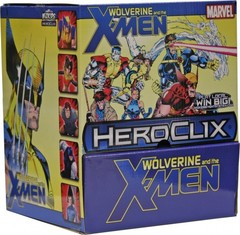 Marvel HeroClix: Wolverine and the X-Men Gravity Feed Display (24 Packs)