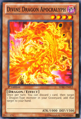 Divine Dragon Apocralyph - SDBE-EN012 - Common - 1st