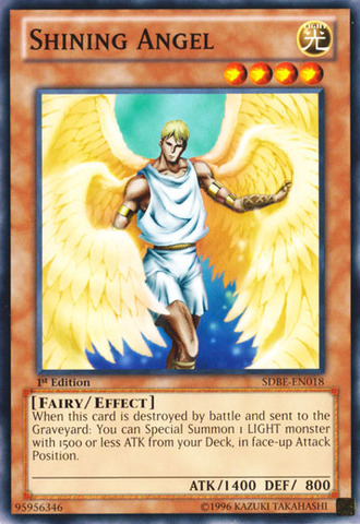 Shining Angel - SDBE-EN018 - Common - 1st