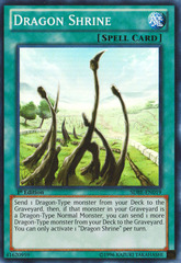 Dragon Shrine - SDBE-EN019 - Super Rare - 1st on Channel Fireball