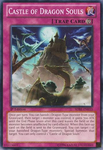 Castle of Dragon Souls - SDBE-EN033 - Common - 1st