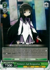 Homura's Sad Resignation - MM/W17-E021SP - SP