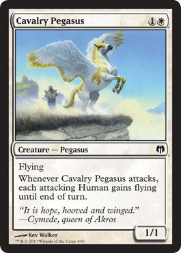 Cavalry Pegasus - Foil