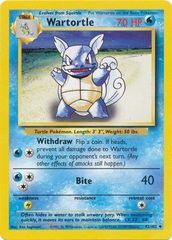 Wartortle - 42/102 - Uncommon - Unlimited Edition