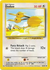 Doduo - 48/102 - Common - Unlimited Edition on Channel Fireball