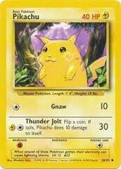 Pikachu - 58/102 - Common - Unlimited Edition