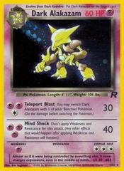 Dark Alakazam - 1/82 - Holo Rare - Unlimited Edition