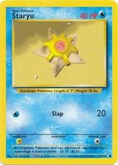 Staryu - 65/102 - Common - Unlimited Edition