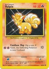 Vulpix - 68/102 - Common - Unlimited Edition