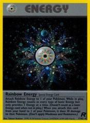 Rainbow Energy - 17/82 - Holo Rare - Unlimited Edition on Channel Fireball