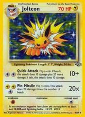 Jolteon - 4/64 - Holo Rare - Unlimited Edition