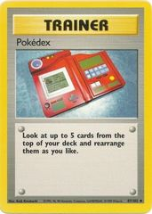 Pokedex - 87/102 - Uncommon - Unlimited Edition