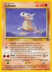 Cubone - 50/64 - Common - Unlimited Edition