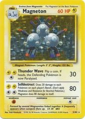 Magneton - 9/102 - Holo Rare - Unlimited Edition
