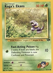 Koga's Ekans - 77/132 - Common - Unlimited Edition