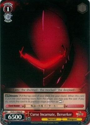 Curse Incarnate, Berserker - FZ/S17-E062 - R
