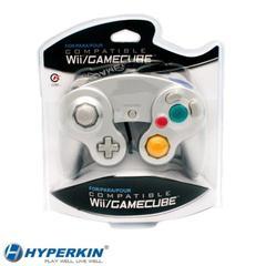 Accessory: Wii/Gamecube Controller Silver Cirka