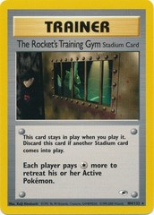 The Rocket's Training Gym - 104/132 - Rare - Unlimited Edition