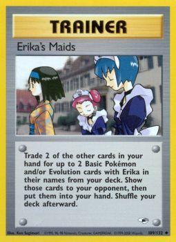 Erikas Maids - 109/132 - Uncommon - Unlimited Edition