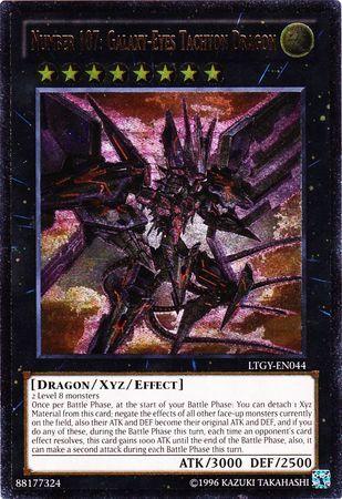 Number 107: Galaxy-Eyes Tachyon Dragon - LTGY-EN044 - Ultimate Rare - Unlimited Edition
