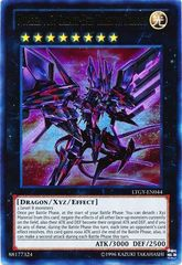 Number 107: Galaxy-Eyes Tachyon Dragon - LTGY-EN044 - Ultra Rare - Unlimited Edition