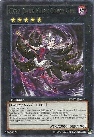 CXyz Dark Fairy Cheer Girl - LTGY-EN047 - Rare - Unlimited Edition