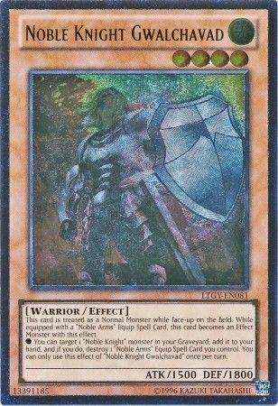Noble Knight Gwalchavad - LTGY-EN081 - Ultimate Rare - Unlimited Edition