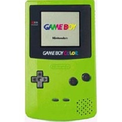 Sys: Used Game Boy Color Kiwi green