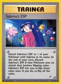 Sabrinas ESP - 117/132 - Uncommon - Unlimited Edition