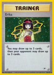 Erika - 16/132 - Holo Rare - Unlimited Edition