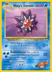 Misty's Starmie - 56/132 - Uncommon - Unlimited Edition