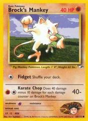 Brock's Mankey - 68/132 - Common - Unlimited Edition