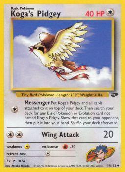 Kogas Pidgey - 49/132 - Uncommon - Unlimited Edition
