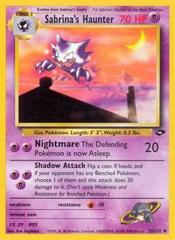 Sabrina's Haunter - 55/132 - Uncommon - Unlimited Edition