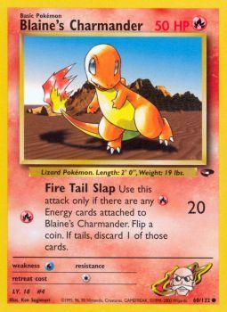 Blaines Charmander - 60/132 - Common - Unlimited Edition