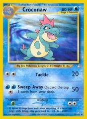Croconaw - 32/111 - Uncommon - Unlimited Edition
